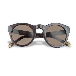 Brown Era - Round Tortoiseshell Sunglasses